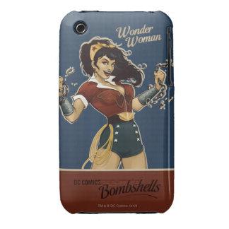 Bomba de la Mujer Maravilla iPhone 3 Case-Mate Carcasa