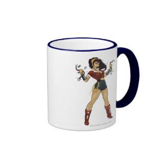 Bomba de la Mujer Maravilla Taza De Café