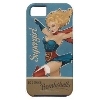 Bomba de Supergirl Funda Para iPhone 5 Tough