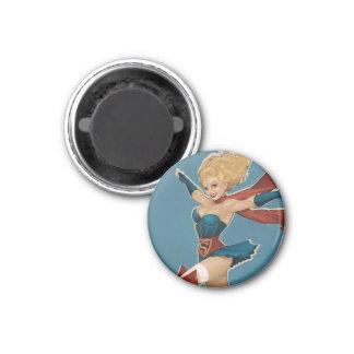 Bomba de Supergirl Imán Para Frigorifico