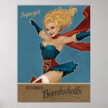 Bomba de Supergirl Posters