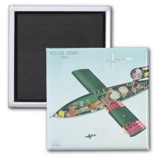 Bomba de vuelo V1 Imán