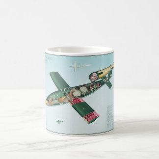 Bomba de vuelo V1 Taza Clásica
