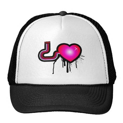 Bomba del amor gorras