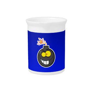 Bomba del dibujo animado Azul