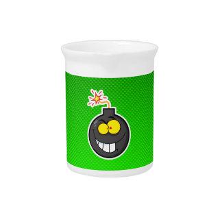 Bomba del dibujo animado Verde