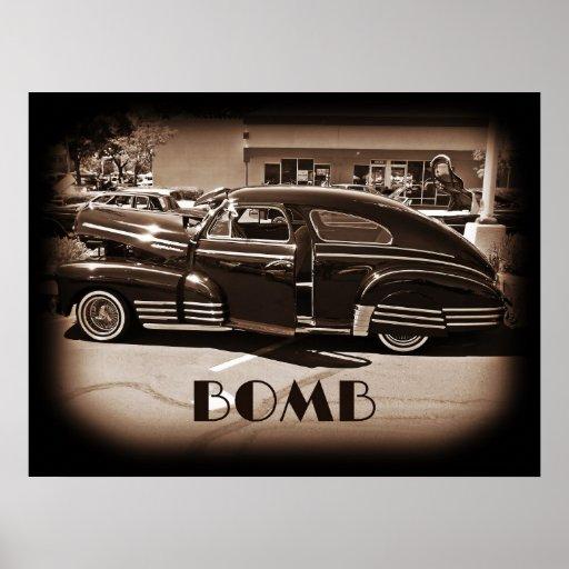 Bomba del Lowrider de Chevrolet Fleetline Póster
