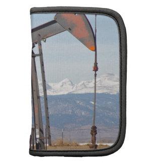 Bomba del pozo de petróleo de Colorado Front Range Planificador