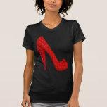Bomba del rubí de Dorothy Camisetas