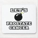 Bombardeemos al cáncer de próstata alfombrillas de ratones