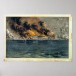 Bombardeo del fuerte Sumter Posters