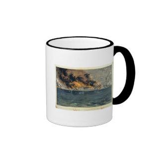 Bombardeo del fuerte Sumter Taza De Dos Colores