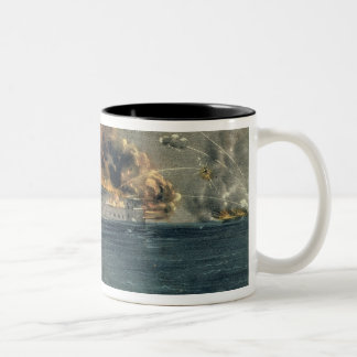 Bombardeo del fuerte Sumter Taza De Dos Tonos
