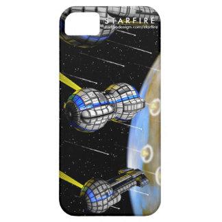 ¡Bombardeo planetario de STARFIRE! iPhone 5 Carcasa