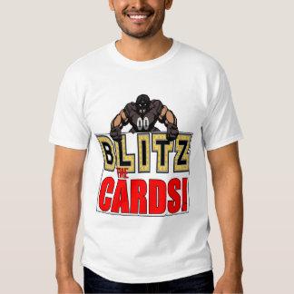Bombardeos la camiseta de las tarjetas camisas