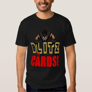 Bombardeos la camiseta de las tarjetas remera