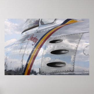 Bombardero B25 de Smokey - Posters