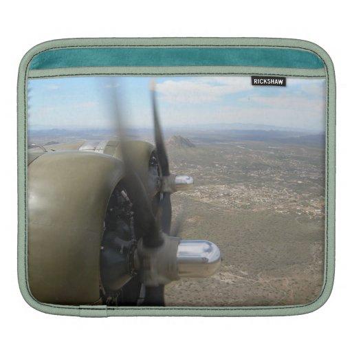 Bombardero B-17 sobre Arizona Mangas De iPad