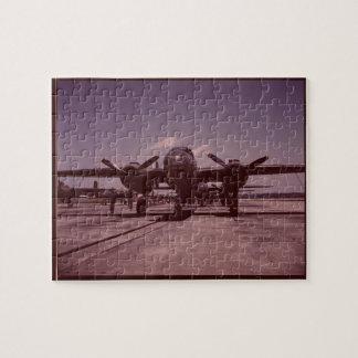 Bombardero B-25 Puzzle
