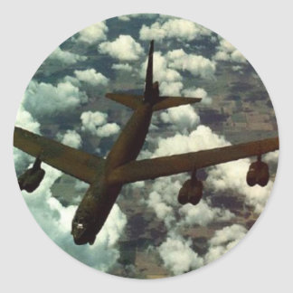 Bombardero B-52 Etiqueta Redonda