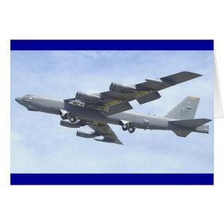 BOMBARDERO B-52 TARJETA DE FELICITACIÓN