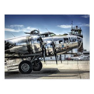 Bombardero clásico del wwii b-17 postales