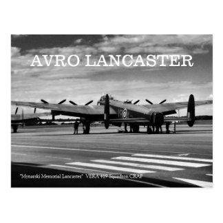 Bombardero de Avro Lancaster Postales