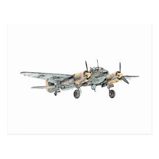 Bombardero de Ju 88 de los Junkers Postal