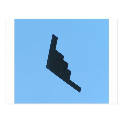 Bombardero de la cautela tarjeta postal