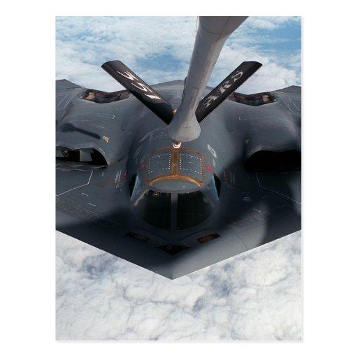 Bombardero de la cautela postales