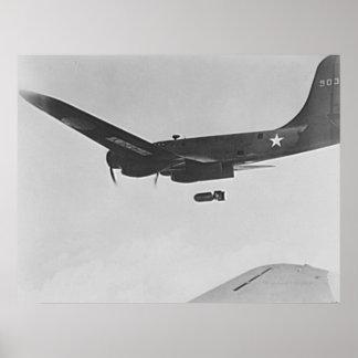 Bombardero de la fortaleza del vuelo B-17 Posters