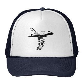 Bombardero de la lanzadera gorras