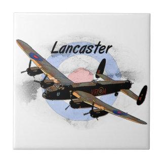 Bombardero de Lancaster Azulejo Cuadrado Pequeño