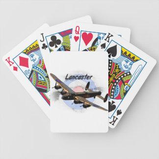 Bombardero de Lancaster Cartas De Juego