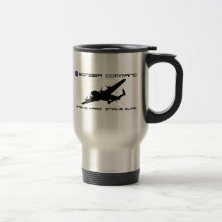 Bombardero de Lancaster - comando del bombardero Taza De Café