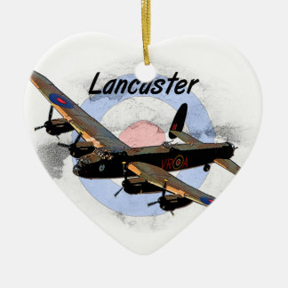 Bombardero de Lancaster Ornamentos De Navidad