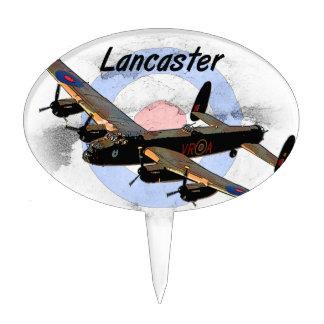 Bombardero de Lancaster Decoración Para Tarta