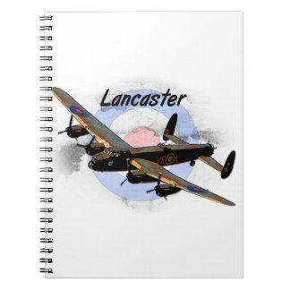 Bombardero de Lancaster Libreta