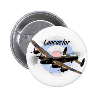Bombardero de Lancaster Pin Redondo De 2 Pulgadas