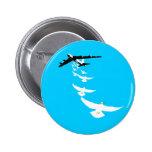 Bombardero de paloma de la paz B52 Pins