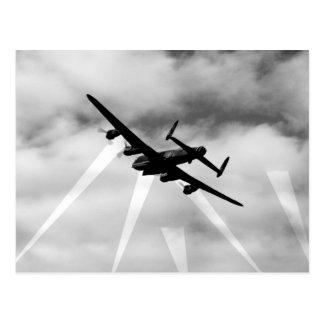 Bombardero de WW2 Avro Lancaster Tarjeta Postal