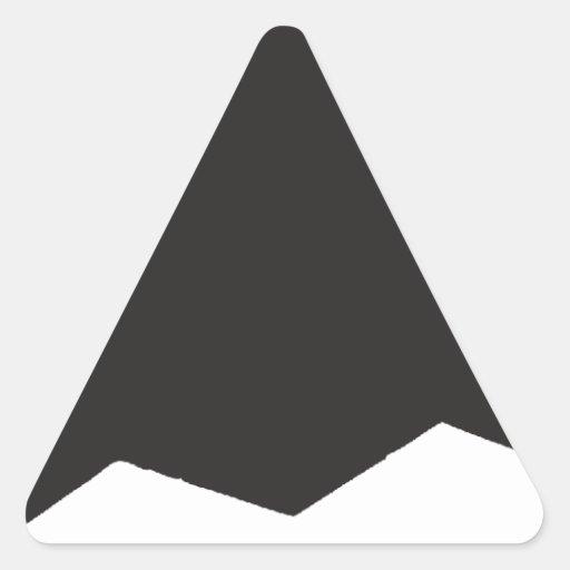 Bombardero del alcohol B2 Calcomanía De Triangulo Personalizadas