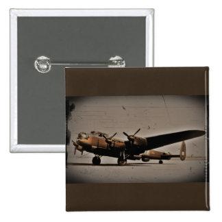 Bombardero pesado de Lancaster Pins