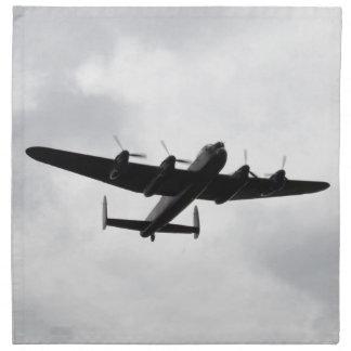Bombardero pesado de Lancaster Servilletas Imprimidas