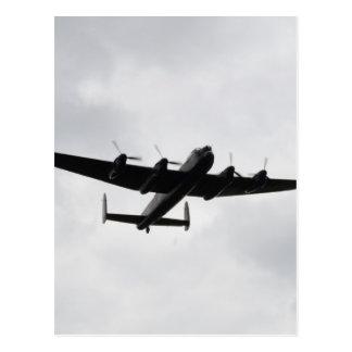 Bombardero pesado de Lancaster Tarjetas Postales