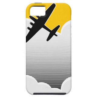 Bombardero solitario iPhone 5 protectores