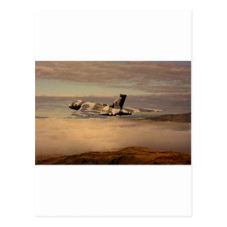 Bombardero XH558 de Avro Vulcan Tarjetas Postales