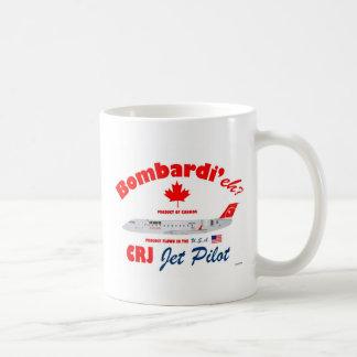 Bombardi'eh Pinnacle CRJ Mug