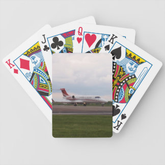 Bombardier Lear Jet 45XR Bicycle Playing Cards