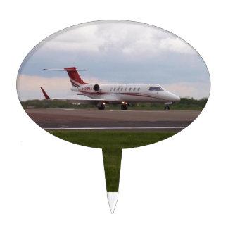 Bombardier Lear Jet 45XR Cake Topper